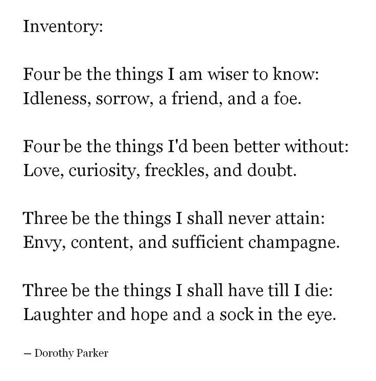 82 best Dorothy Parker images on Pinterest Poetry, INFP and Books - dorothy parker resume