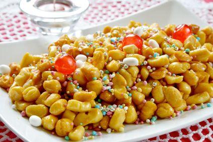 #cicerchiata #struffoli #Abruzzo #food