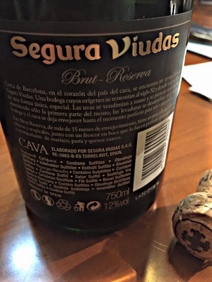 El Alma del Vino.: Heredad Segura Viudas Cava Brut Reserva.
