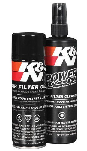 K Recharger kit contains K air filter cleaner and air filter oil. It is a six-step maintenance system designed to recharge any K FilterCharger air filter. Air filter oil is used to treat foam air filter elements to increase their filtering capacity. Red filter oil helps to extend engine life and prevents dirt from entering your engine. Air filter oil boosts the performance of cars and trucks. K air filter cleaner is the only cleaner formu...