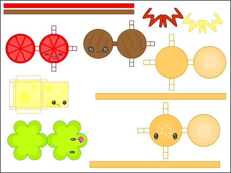 Best Pepercraft Anime Chibi Images On   Papercraft
