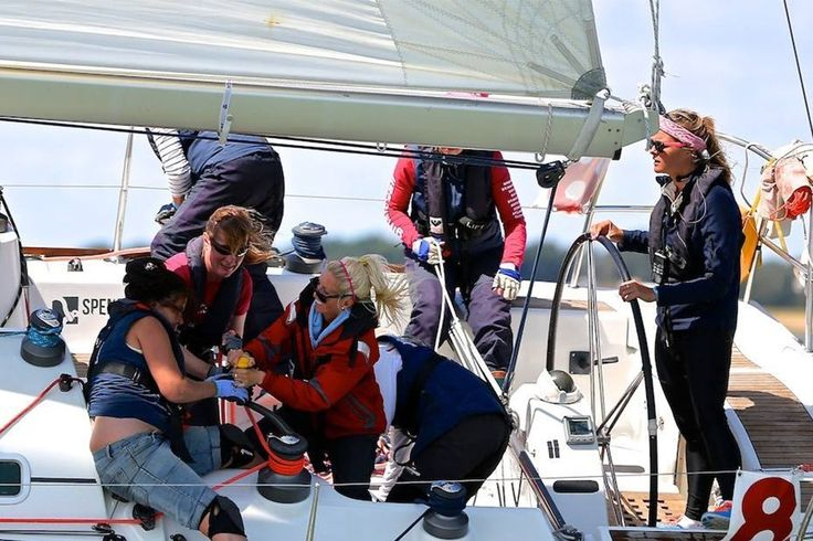 Girls for Sail helps women to be more confident about their #sailing #skills, provide them with different techniques and experience. Most of the time #women come to us to get sail training in order to support their husbands on the boat.