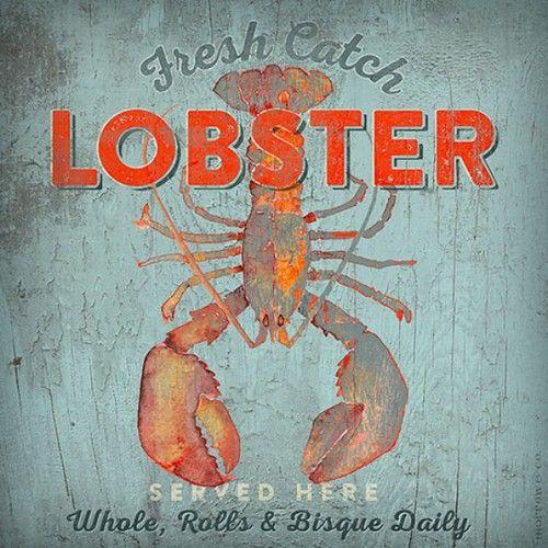 Fresh Catch Lobster Art. Lobster ArtDecorating KitchenCountry ...