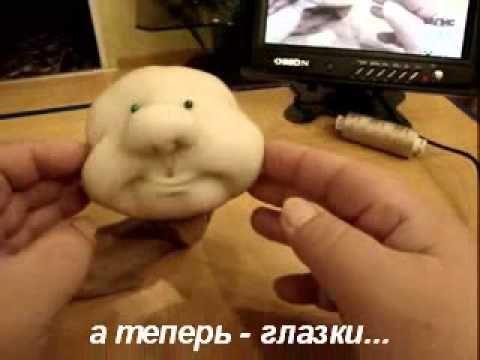 МК Лаврентьевой Е. по созданию каркасной куклы часть 1 - YouTube soft head doll tutorial