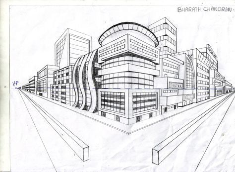 20 best Two Point Perspective images on Pinterest