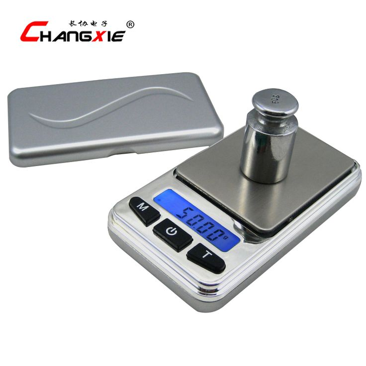 10 piece/packet High Precision 300g / 0.01g Jewelry Scale Kitchen Scale LCD Electronic Scale Portable Digital Household Scale