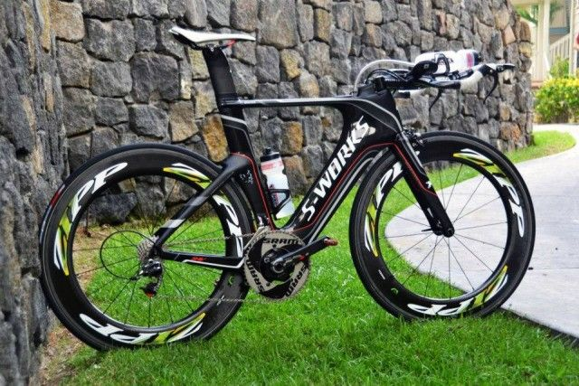 Chris McCormack's S-Works Specialized Shiv 2012