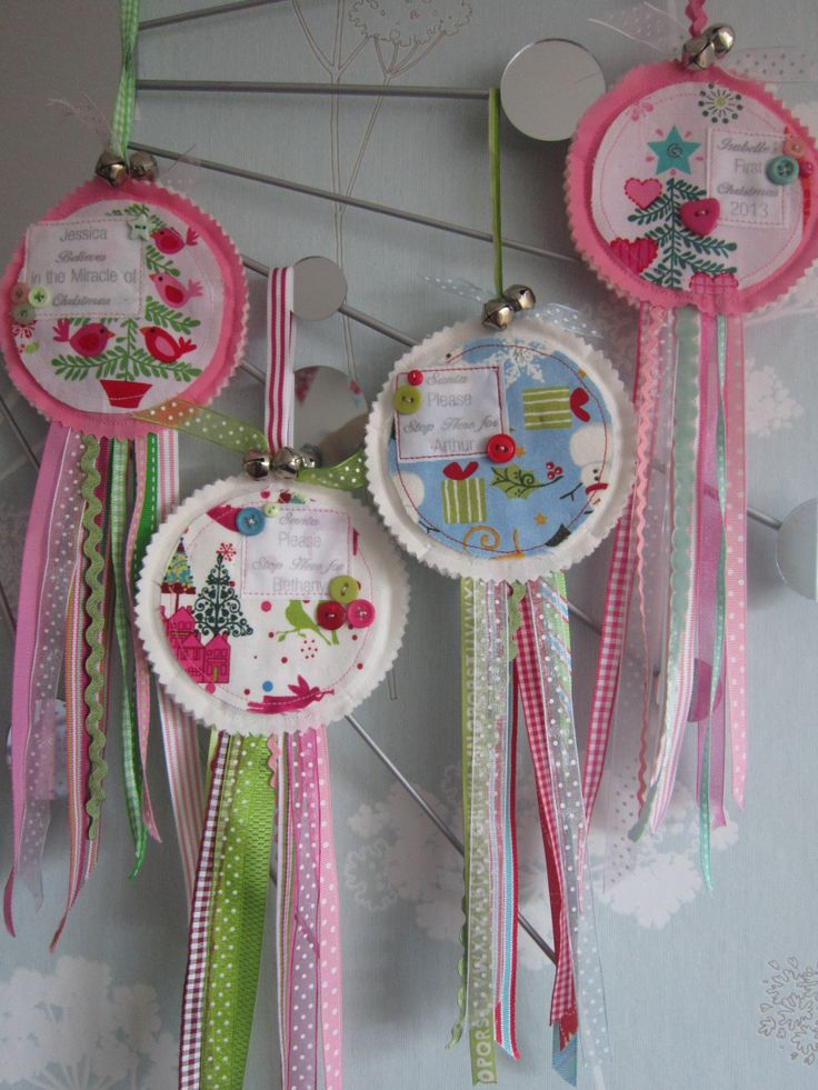 Another, slightly lighter and airier shot of the Christmas Rosettes...love 'em!
