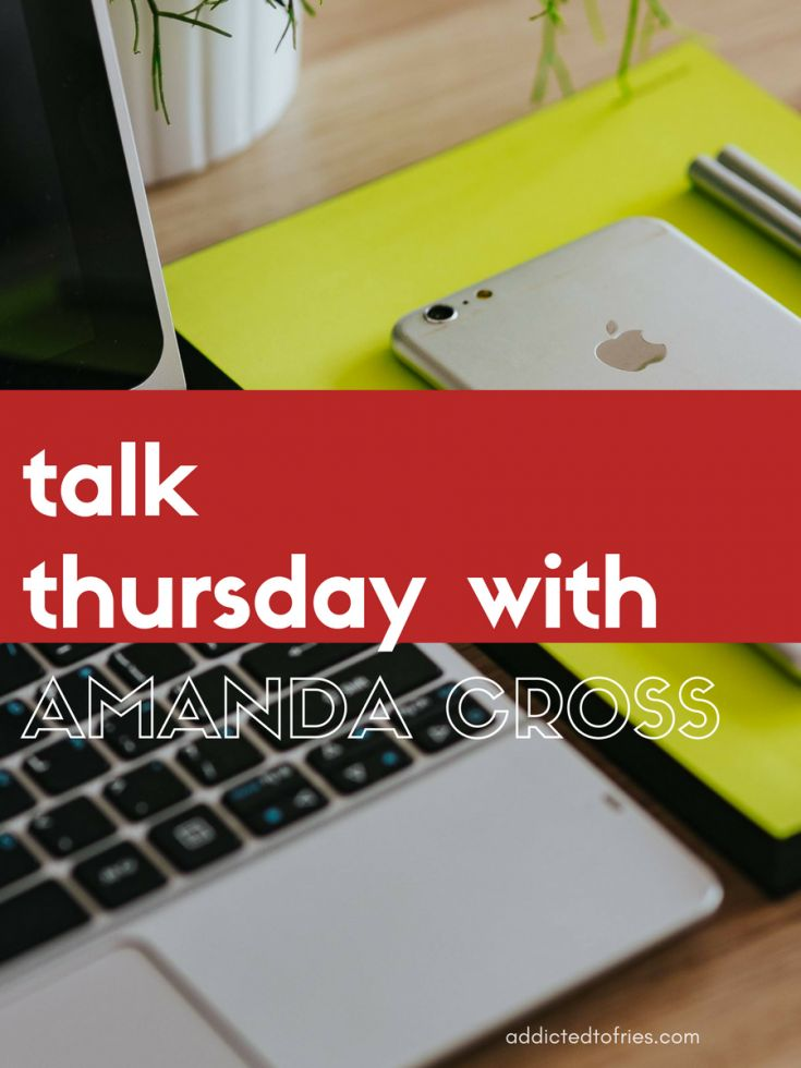 This edition of the Talk Thursday interview series features Amanda Cross. She shares business tips and social media advice. Click to read more.