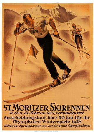 St. Moritz ~ Winter Olympics 1928