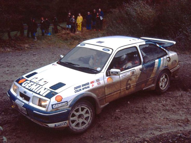 Ford Sierra RS Cosworth gr.A rally car driven by Colin McRae