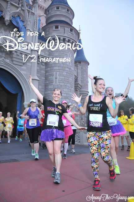 Among the Young: Tips for a DisneyWorld Half Marathon