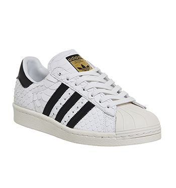 Adidas Superstar 80\u0027s (w) White Core Black Off White Scale - Hers trainers