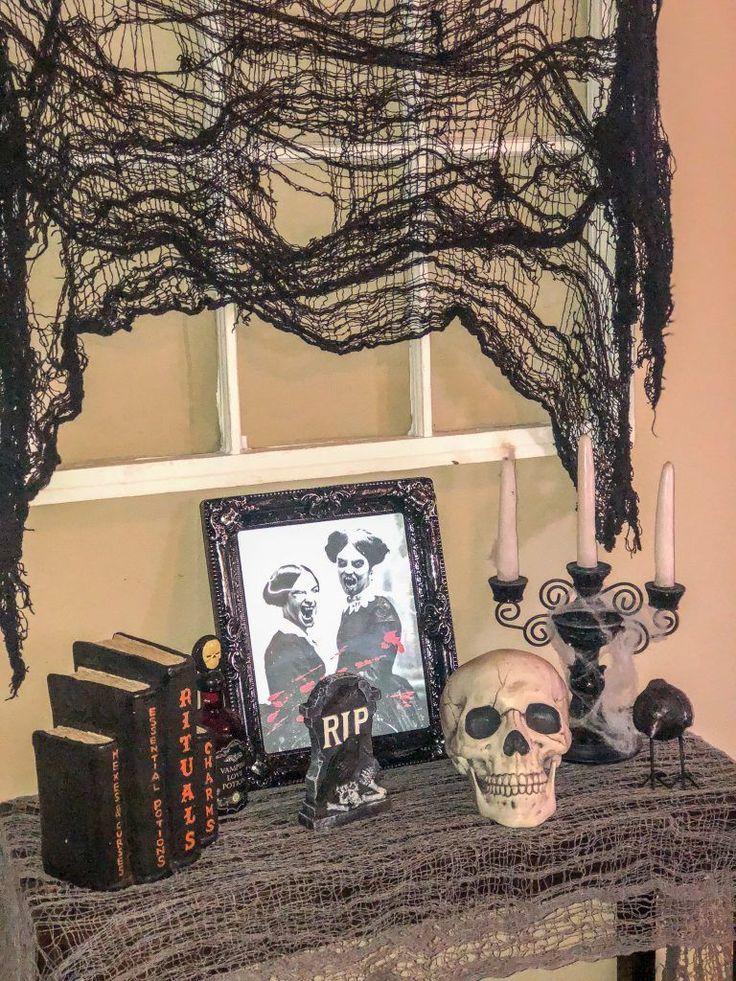 Halloween decorations. Outdoor Halloween decoration ideas. Indoor Halloween deco…