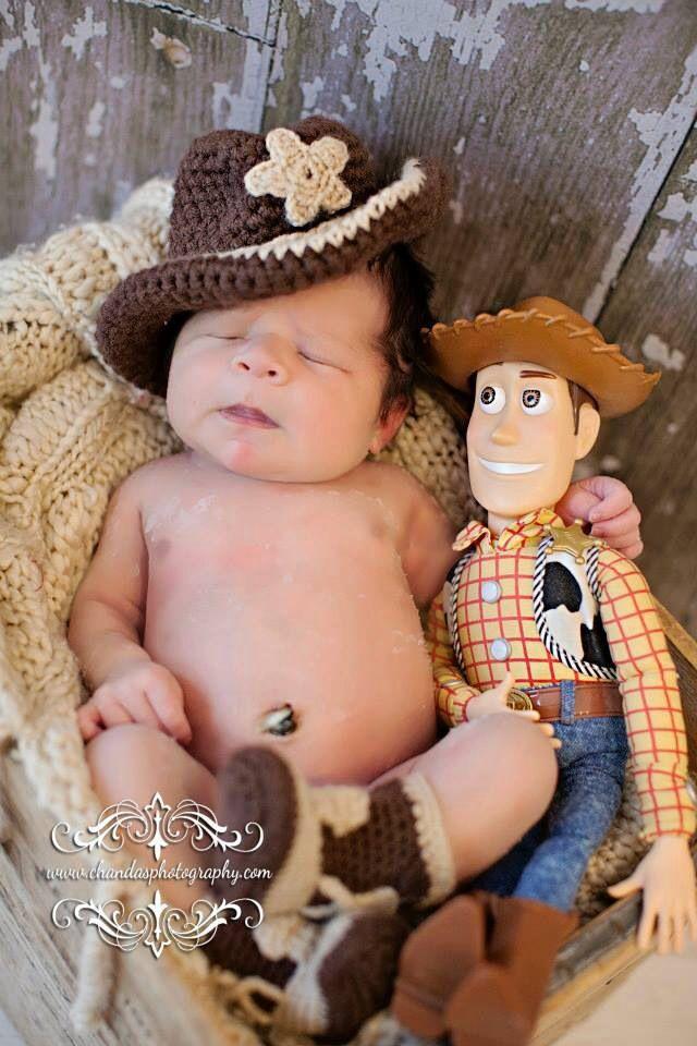 Newborn pictures disney toy story