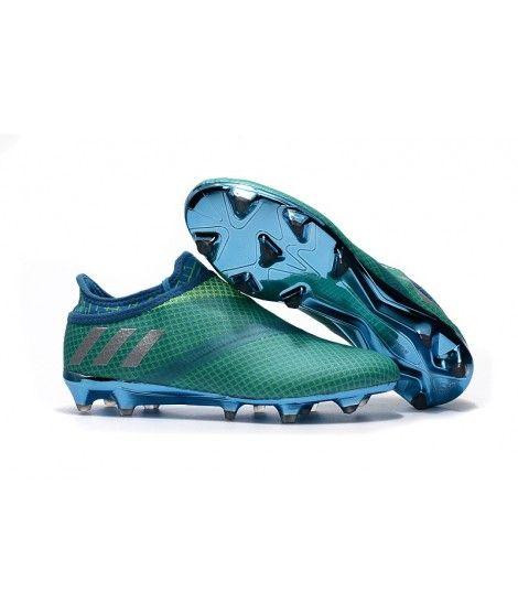 Adidas MESSI 16 Pureagility FG_AG Botas De Fútbol Bold-Verde