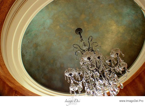 159 best painted ceilings images on pinterest ceiling for Best paint finish for ceilings