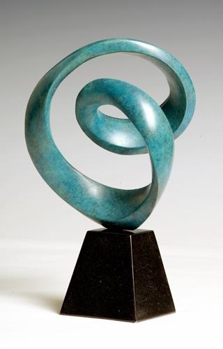 Richard Erdman, Eleos, Bronze, 35 X 20 X 12 Cm