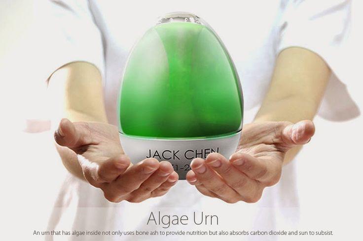 """""""Urna de algas"""" - [XXXXII] Imagina los entierros del futuro"""