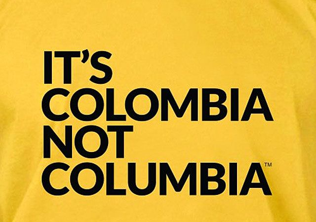 'It's Colombia, not Columbia': Wrong facts about Colombia - See more at: http://www.voxxi.com/wrong-facts-about-colombia/#sthash.AHpINwzr.dpuf