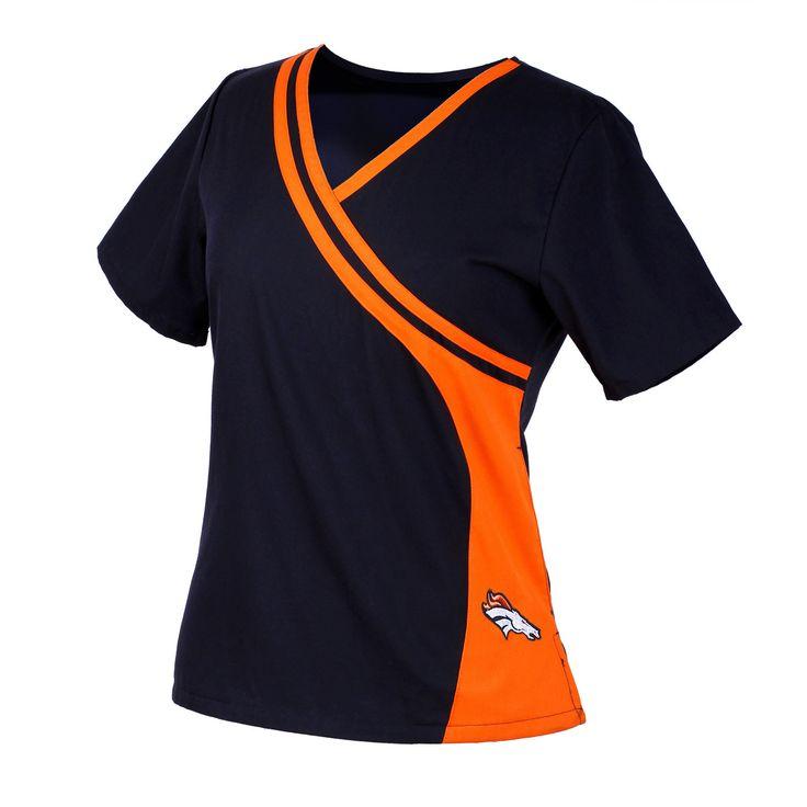 Scrub Identity - Denver Broncos NEW Women's NFL Scrub Top, $34.99 (http://www.scrubidentity.com/denver-broncos-new-womens-nfl-scrub-top/)