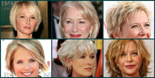 Peinados cortos para señoras con más de 50 años   Zona Hydra