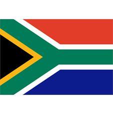 Liten Flagga sydafrika