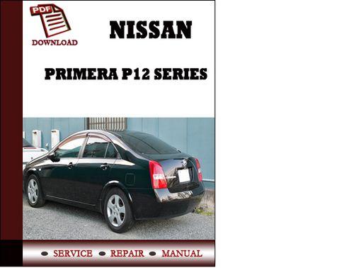 2001 Nissan primera p12 service manual free download #1