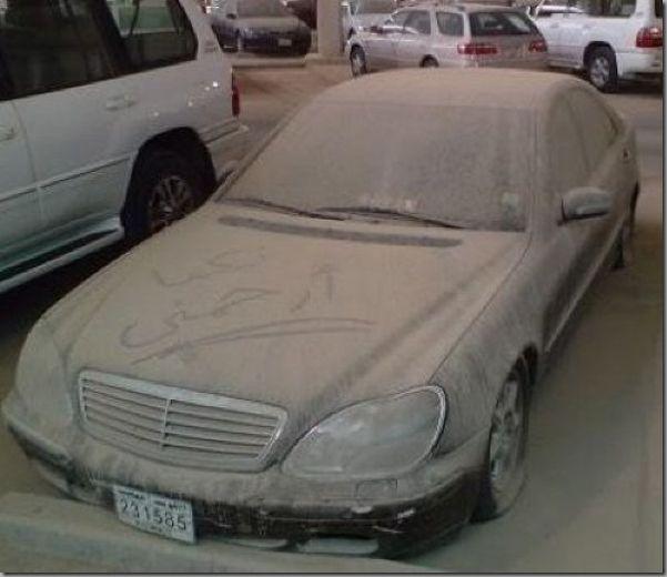 Dirty Car Not Art