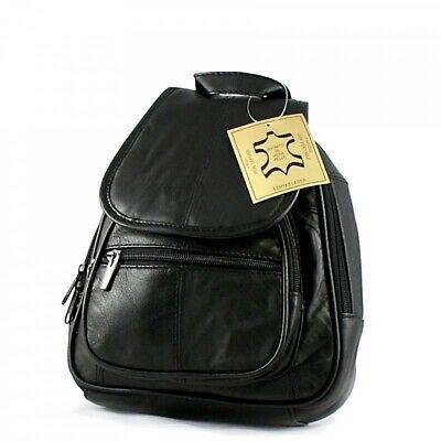 Photo of LADIES LITTLE LEATHER City-RuCkSaCk Shoulder Bag Backpack Cross-over BAG daypack …