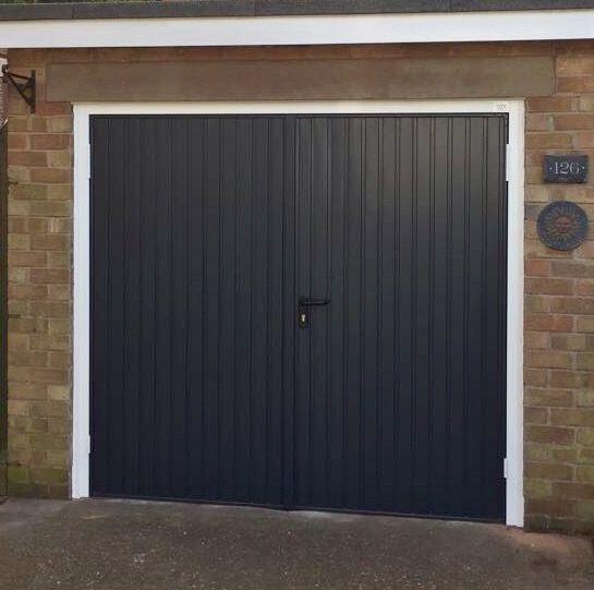Garador Calton SHD   Anthracite Grey. 99 best Garage doors images on Pinterest   Garage doors  Ribs and