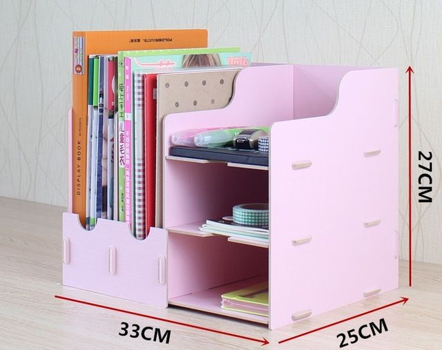 assembly File data rack shelf storage rack supplies desktop storage box storage holder