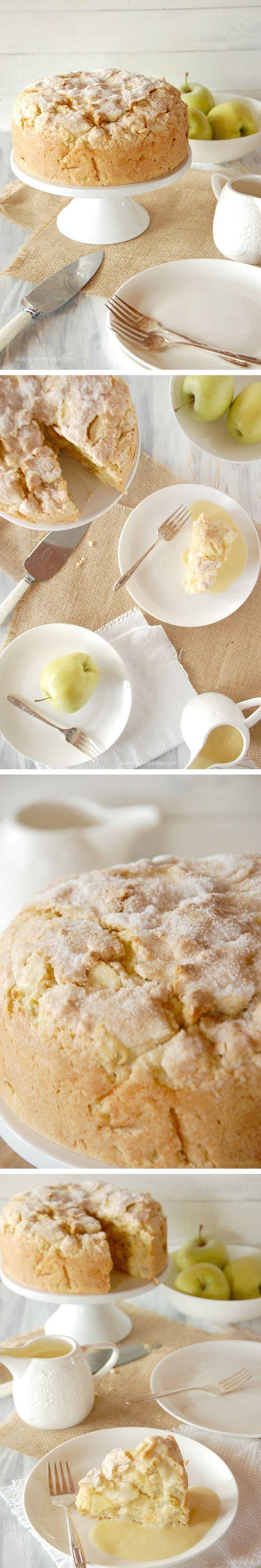 Bizcocho de manzana irlandés - Pecados de Reposteria