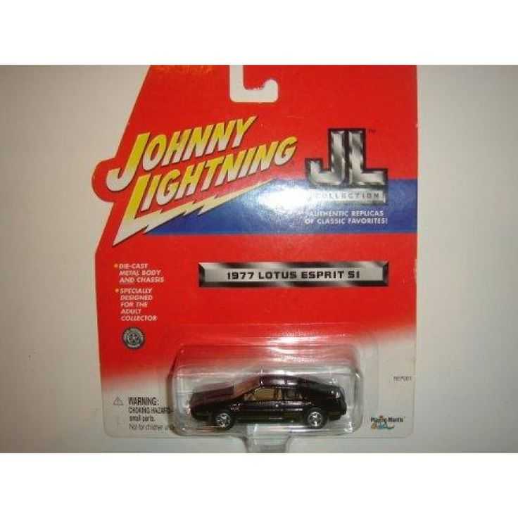 2001 Johnny Lightning JL Collection 1977 Lotus Esprit S1 Black  Looking for deals on toy cars? Check this deals on 2001 Johnny Lightning JL Collection 1977 Lotus Esprit S1 Black with free shipping