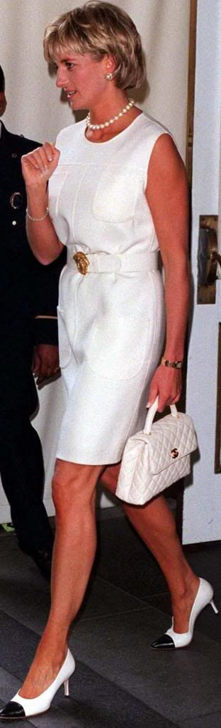 June 24, 1997: Diana, Princess of Wales at the Carlyle Hotel in New York.