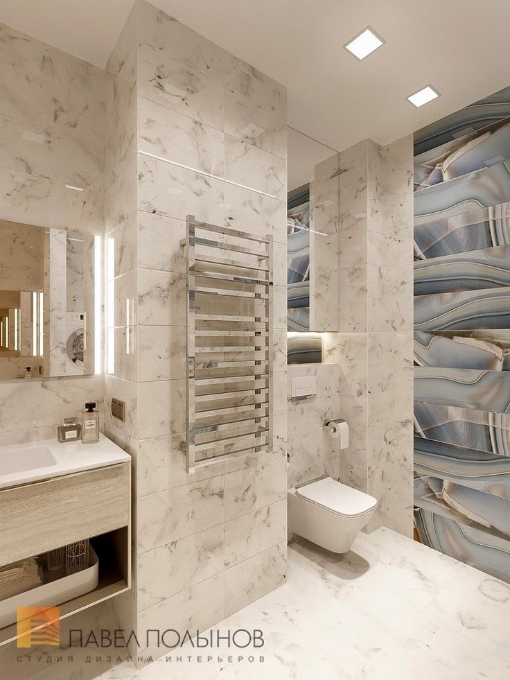 Фото дизайн ванной комнаты из проекта «Дизайн четырехкомнатной квартиры 117 кв.м. в стиле минимализм, ЖК «Премьер палас»»