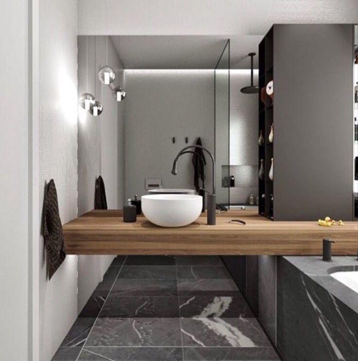 25+ melhores ideias sobre Banheiros Pequenos Na Cor Cinza no Pinterest  Banh -> Banheiro Decorado Na Cor Cinza