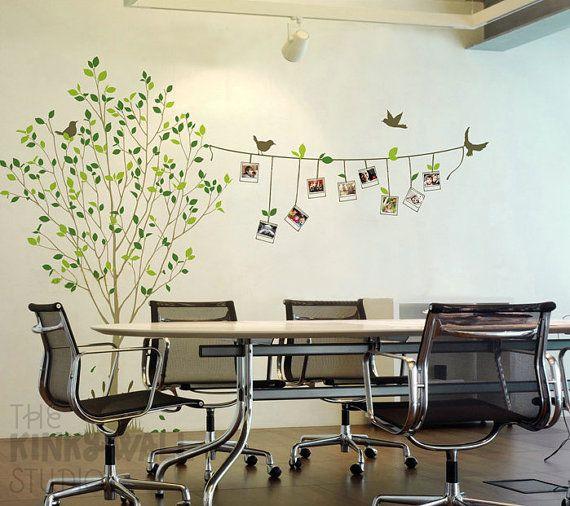 Tree+Wall+Decal+Wall+Sticker+tree+decal++Nature+Tree+by+KinkyWall,+$88.00