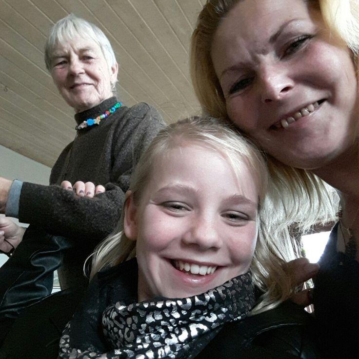 Min dejlige datter Ditte Marie og bedstemor Ellinor elsker jer ❤