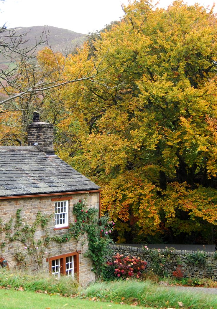 "cityhoppersgarden: "" Autumn in Edale, Derbyshire, Peak District, England photography by cityhopper2 """