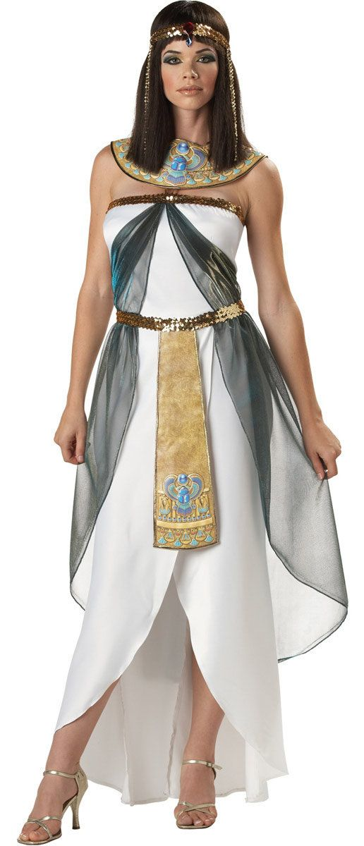 Queen of the Nile Adult Egyptian Cleopatra Costume Cleopatra Costumes - Mr. Costumes
