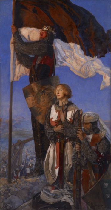 Edwin Austin Abbey, Crusaders Sighting Jerusalem