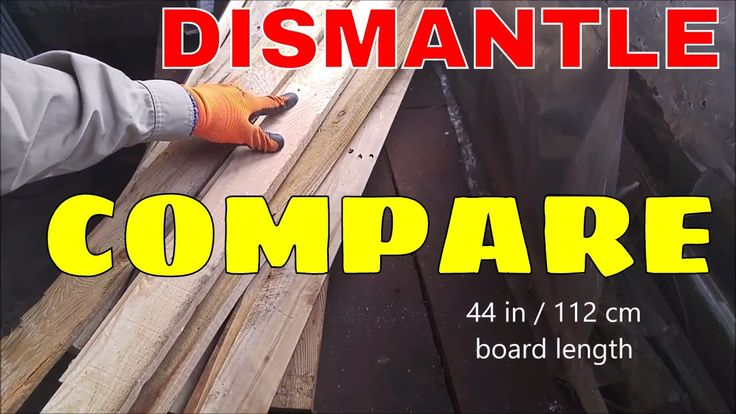 Many people have commented and suggested alternatives to dismantling pallets. I hope this quick video shows the up and down sides of the 3 major techniques. ...