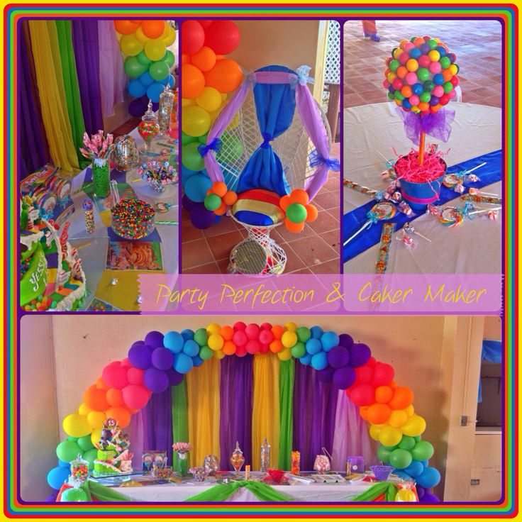 Candy Land Theme Sweet 15 By Glenda Party Decor By Party