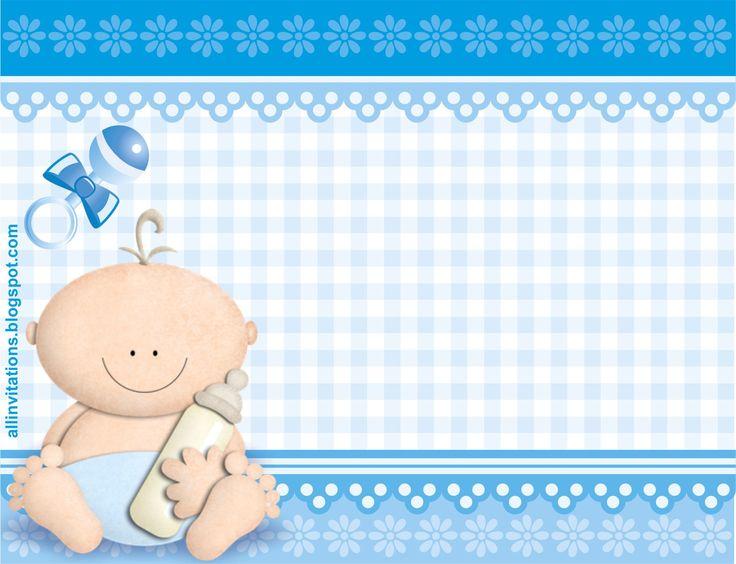 17 mejores ideas sobre Plantillas De Baby Shower en Pinterest ...
