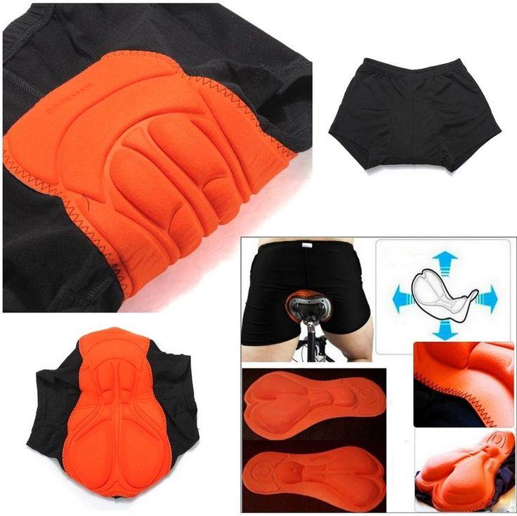 3D cycling shorts for men women bike bicycle underwear pants sponge gel padded #PAL #BaggyCyclingShorts