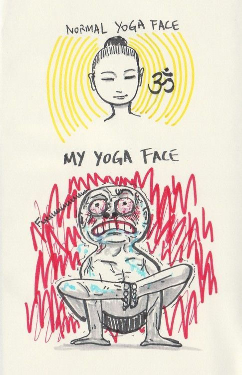 DownDog Funnies: My yoga face... From the Downdog Diary Yoga Blog found exclusively at DownDog Boutique.