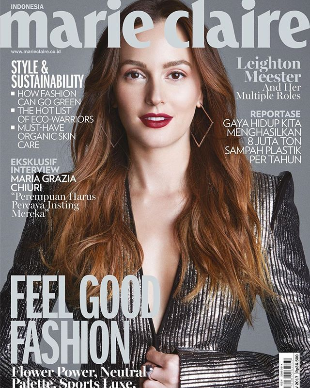 The multi talented Leighton Meester @itsmeleighton for our latest cover! #leightonmeester #leighton #cover #marieclaire #magazinecover #celebrity #hollywood #gossipgirl via MARIE CLAIRE INDONESIA MAGAZINE OFFICIAL INSTAGRAM - Celebrity  Fashion  Haute Couture  Advertising  Culture  Beauty  Editorial Photography  Magazine Covers  Supermodels  Runway Models