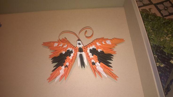 3d origami farfalla