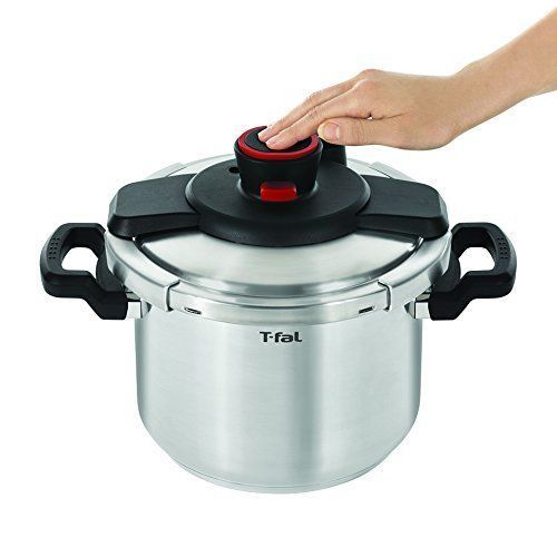 Cute T Fal P Clipso Stainless Steel Pressure Cooker Quart Silver Cookware in Home u Garden